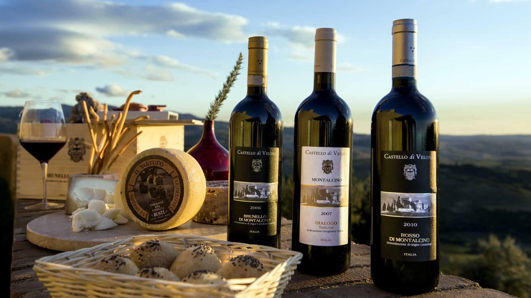 Brunello Wine Tour From Chianti