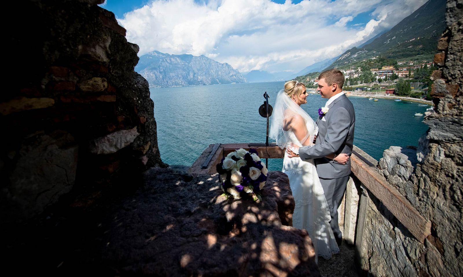 Свадьба на озере Гарда (фото)
