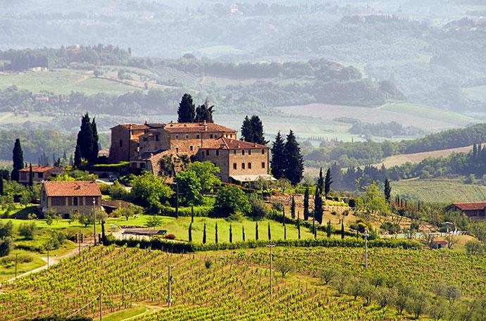 Винные туры по Италии. Отзывы. Фото итальянского пейзажа