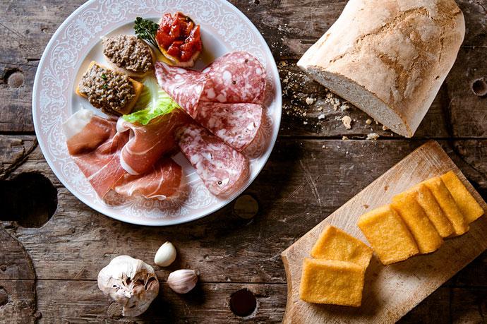 Винно-гастрономический тур (Тоскана). Фото еды