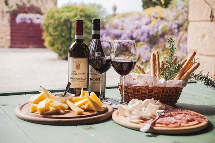 Дегустационные туры (Верона). Фото вина и еды