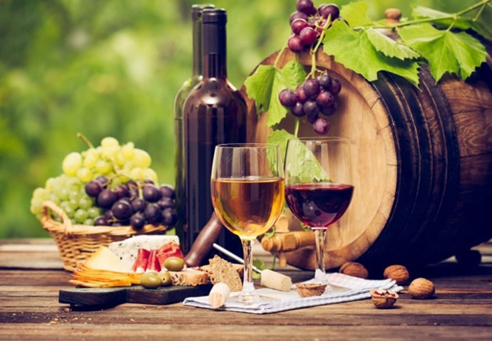 Дегустационные туры (Падуя). Фото вина и продуктов