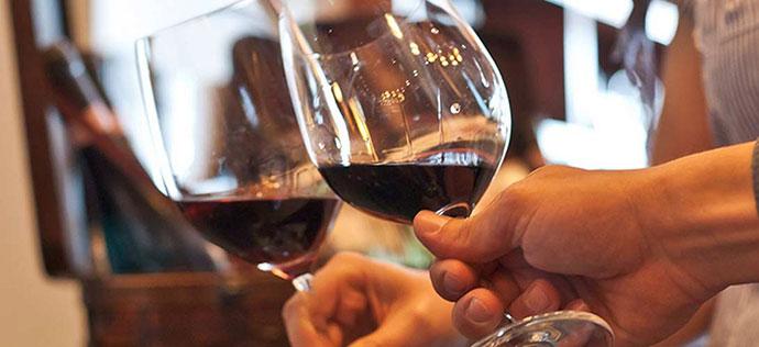 Дегустация вин (Парма). Фото вина в бокале