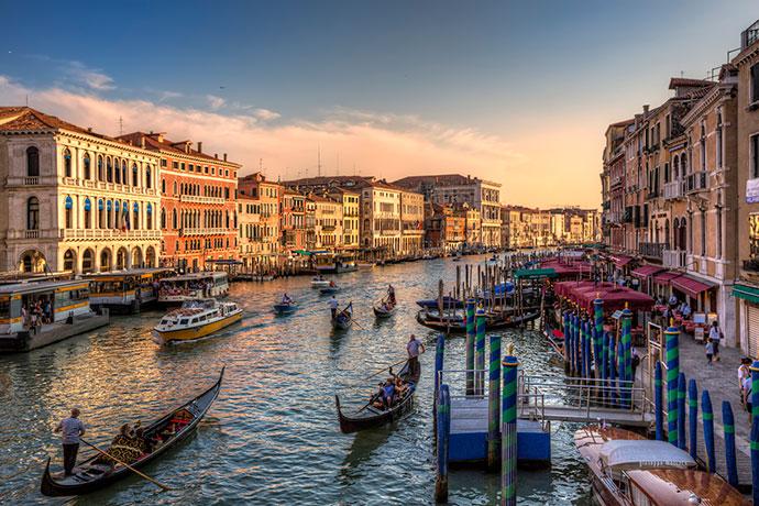 Достопримечательности Венеции. Фото