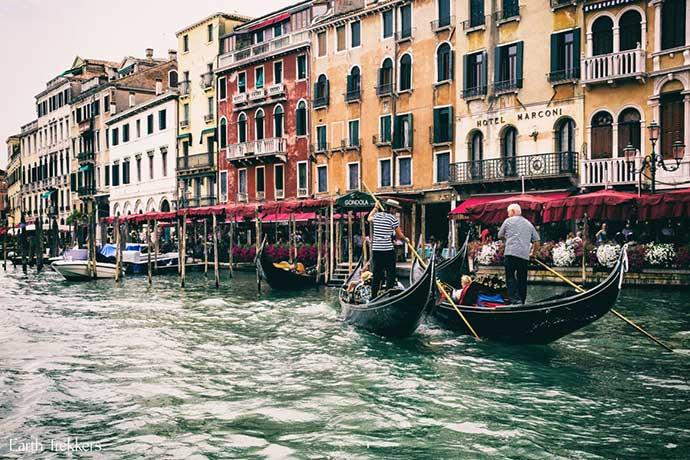 Лицензированный гид в Венеции. Фото города