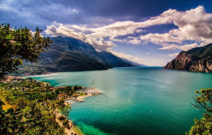 Поездка на озеро Гарда. Фото озера