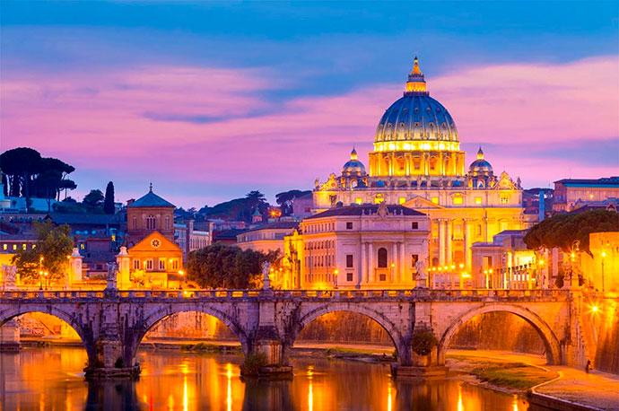 Гид в Италии. Фото