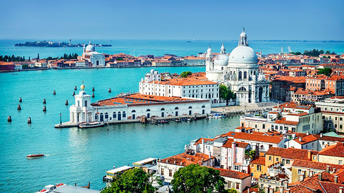 Куда поехать в Италии. Фото Венеции