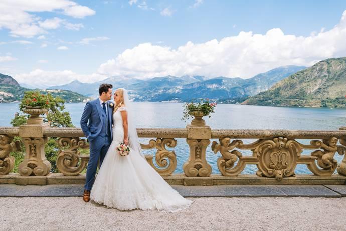Свадьба на озере Комо (фото)