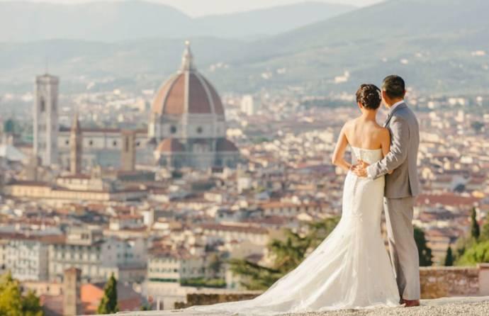 Свадьба в Италии (фото)