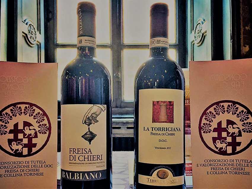 DOC Freisa di Chieri, Пьемонт (фото вина)