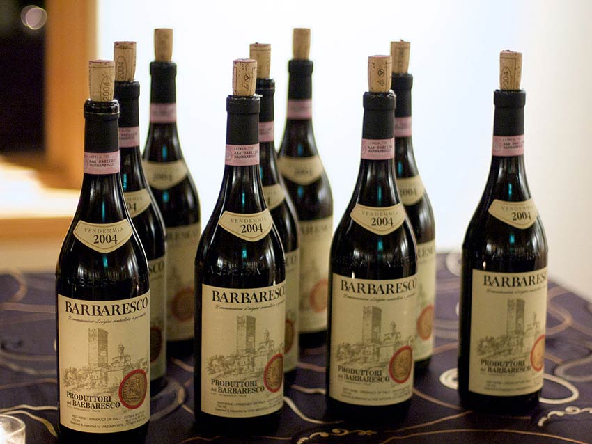 Вина DOCG Barbaresco (Пьемонт)